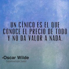 Frases de -Oscar Wilde