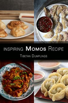 Get inspired with these flavorful Tibetan dumplings - momos recipe with different amazing filling ideas. Momos are easy to make at home!