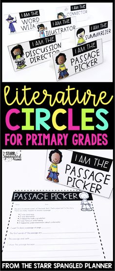Literature Circles, or Book Clubs are one of my favorite ways to engage students in reading. Get your kids independently talking about books while you meet with your guided reading groups. These activities are perfect for first grade, and Guided Reading Groups, Reading Strategies, Teaching Reading, Kids Reading, Reading Comprehension, Book Club Books, Book Clubs, Special Education Classroom, Classroom Community