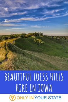 If you're up for a bit of challenge, try this beautiful Loess Hills hike in Iowa. It's worth the effort! Waterfall Hikes, Hidden Beach, Nature Center, Best Hikes, Outdoor Adventures, Natural Wonders, Day Trip, Iowa, Landscape Photography