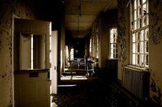 Hospital psiquiatrico Deva, (abandonado). Condado de Chester, Reino Unido.