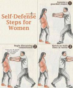 Self defence tips for women