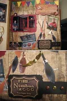 Quality Quidditch Supplies Harry Potter scrapbook