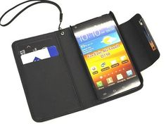 Black Deluxe Folio Ultra Wallet Leather Case with Credit Card Holder and Magnetic Closure for The Sprint Epic Touch 4G (SPH-D710), US Cellular Samsung Galaxy S2 (SCH-R760) & The Boost Mobile Samsung Galaxy S2 by Powertag, http://www.amazon.com/dp/B009KDCSSK/ref=cm_sw_r_pi_dp_C7Nrrb15TEF5V