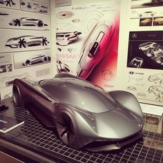 Dyson supercar concept by @CCS_Detroit graduate Joe Halaszynski