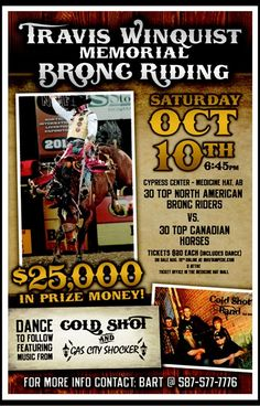2 October 2015 By Kynan Vine MEDICINE HAT, Alberta — Growing up in a rodeo family near Medicine Hat, Alberta meant one thing for certain: rodeo was going to be in your blood. With greats like Rocky Rockabar, Dale Rose, Wilf Girletz, Lloyd Fowlie, Cody Snyder and Benny Hern as your neighbors, it's was hard not …