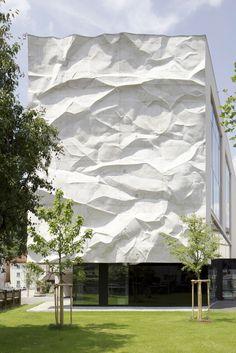 High School in Kufstein, Austria Architect: Wiesflecker Architecture Photographer: David Schreyer