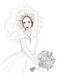 2015 works - maegamimami Wedding Illustration, Pencil Illustration, Character Illustration, Ap Art, Artsy, Sketches, Kawaii, Drawings, Creative