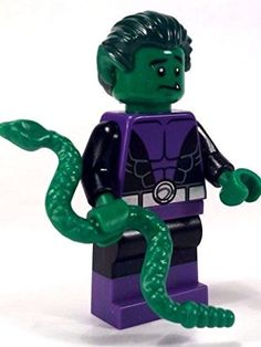 LEGO DC Comics Super Heroes Minifigure - Beast Boy Teen Titan with Snake (76035) LEGO http://www.amazon.com/dp/B013FRW5Z2/ref=cm_sw_r_pi_dp_a39Owb1H68J9Y