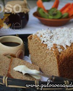 Pão de Aveia e Coco