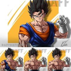 No photo description available. Body Drawing, Anatomy Drawing, Dbz, Dragon Ball Z, Gogeta And Vegito, Anime Fight, Z Arts, Art Graphique, Reference Images