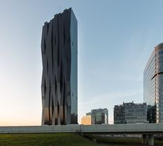 DC TOWERS i ii, Vienna, 2016 - Dominique Perrault Architecture