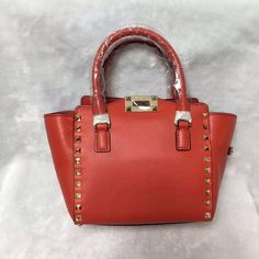 [Final Sale] Valentino Red ROCKSTUD ROLLING MINI DOUBLE HANDLE BAG for sale at https://www.ccbellavita.eu/products/final-sale-valentino-red-rockstud-rolling-mini-double-handle-bag