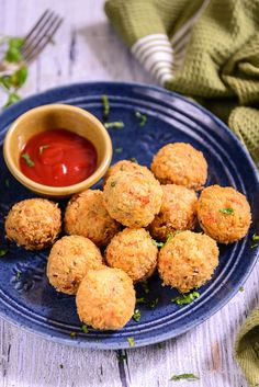Golden brown, crisp and gooey, Marconi Balls can be served with ketchup or…