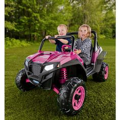 "Peg Perego Polaris RZR 90012V Ride On - Pink - Peg Perego - Toys ""R"" Us"