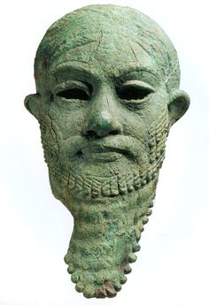Iran or Mesopotamia | Head of a ruler, 2300—2000 B.C. | Copper Alloy