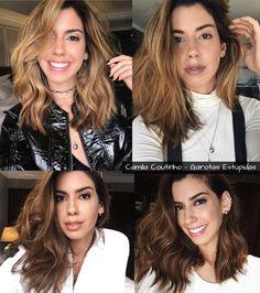 Cabelos das blogueiras - Camila Coutinho (Garotas Estúpidas)