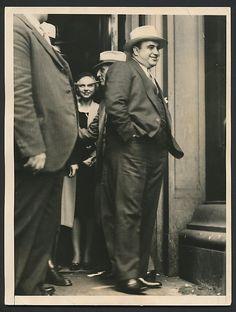 Al Capone, convicted.