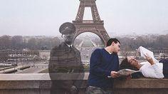 mientras ellos están hablando, a su lado poso hitler, al invadir Francia en 1940