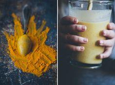 Banana, Turmeric, & Ginger Lassi | immune boosting; turmeric cleanses the liver