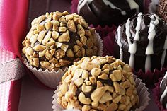 A Christmas Treat - Dark Chocolate Rum & Tia Marie Liqueur Truffle recipe.