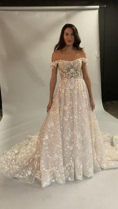 Cute Wedding Dress, Wedding Dress Trends, Dream Wedding Dresses, Wedding Attire, Wedding Gowns, Bridesmaid Dresses, Beautiful Wedding Dress, Klienfeld Wedding Dresses, Dress Wedding
