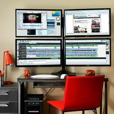 How to set up triple and quadruple monitors..... because my current double monitor is not enough