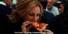 comer rezar amar - julia roberts - pizza