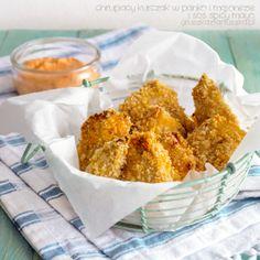 chrupiący kurczak w panko i majonezie