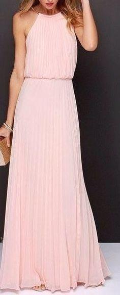 Espectaculares vestidos maxi hasta el suelo...