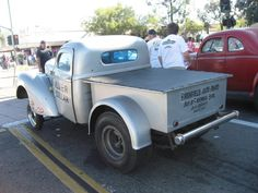 1941 Willys Pickup14l Silver Dollar