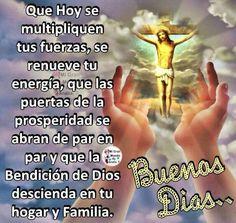 Buenos Días Good Morning Prayer, Morning Prayers, Good Morning Good Night, Happy Week, Happy Sunday, Happy Mothers Day, Night Messages, Good Morning Messages, Good Day Quotes