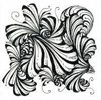 Stash: January Classes Tangle Doodle, Tangle Art, Doodles Zentangles, Doodle Art, Tangle Patterns, Doodle Patterns, Graphic Patterns, Card Drawing, Zen Art