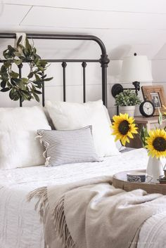 1000 Ideas About White Iron Beds On Pinterest Diy