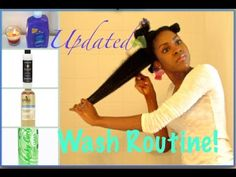 ▶ How to Wash Long, Kinky Natural Hair 4a|4b|4c - YouTube