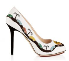 Charlotte Olympia Faster Collection Spring 2014