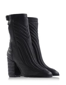 Laurence Dacade quilted leather boots.