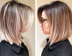 15 Beautiful Ombre Bob Hairstyles | http://www.short-haircut.com/15-beautiful-ombre-bob-hairstyles.html