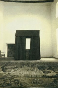 and thethe man, himself:  Cy Twombly's Photographs of Interiors:...