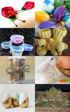 Easter Gift Ideas  by Jo Stamatakis on Etsy--Pinned with TreasuryPin.com