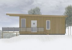 Summercabin - Facade East