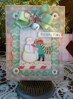 Christmas Shabby Cards at Remember This
