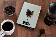 Finesseur Kitchen Scale for Coffee Lovers #best #kitchen #food #scale #review