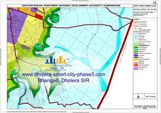 Map of Bhangad, Dholera SIR