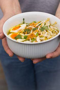 Healthy Slow Cooker, Quick Healthy Meals, Healthy Recipes, Healthy Food, Chicken Soup Recipes, Easy Soup Recipes, Dinner Recipes, Indian Food Recipes, Asian Recipes