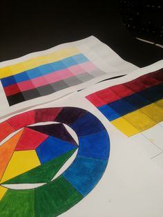 Kleuren cirkel & Toontrappen