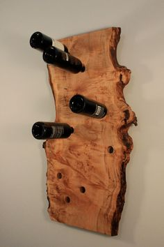 Natural Wood Wine Rack