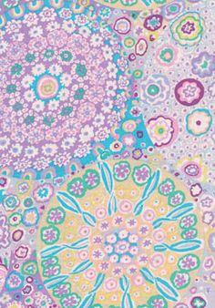 Rowan Kaffe Fassett Collective Millefiore Lilac
