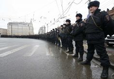 This is how the Russian police say they will put down mass protests - The Washington Post