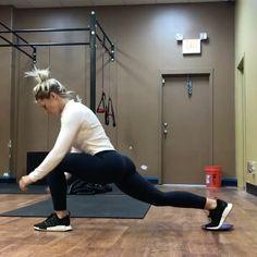 Slider leg workout by @suzie_kb